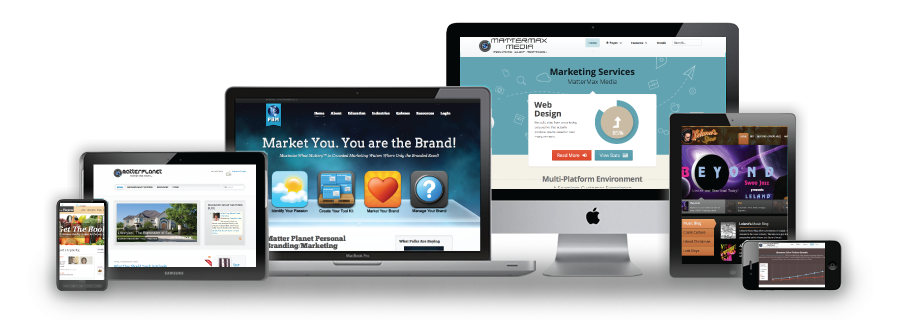 MatterMax Media Responsive Screen Web Design